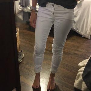 Denim - White skinny jeans